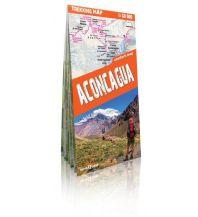 Wanderkarten Südamerika Trekking Map Aconcagua terraQuest