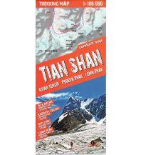 Wanderkarten Terraquest Trekking Map Zentralasien - Tian Shan 1:100.000 terraQuest