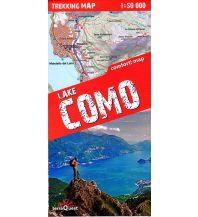 Wanderkarten Italien Terraquest Trekking Map Lake Como 1:50.000 terraQuest