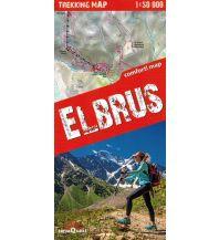 Wanderkarten Terraquest Trekking Map Russland - Elbrus 1:50.000 terraQuest