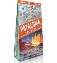 Wanderkarten Südamerika Terraquest Trekking Map Patagonia/Patagonien 1:160.000 terraQuest