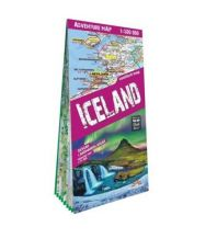 Terraquest Adventure Map Island - Iceland / Island 1:500.000 terraQuest