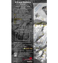 Wanderkarten Asien K2 and Baltoro Glacier in the Karakorum 1:80.000 Topkart