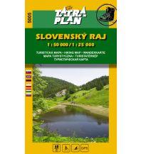 Wanderkarten Slowakei TatraPlan-Wanderkarte 5005, Slovenský Raj/Slowakisches Paradies 1:50.000/1:25.000 Tatraplan s.r.o.