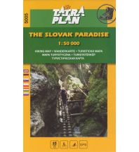 Wanderkarten TatraPlan WK 5005 Slowakei - The Slovak Paradise 1:50.000 Tatraplan s.r.o.