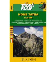 Wanderkarten Slowakei TatraPlan Wanderkarte 2502, Hohe Tatra 1:25.000 Tatraplan s.r.o.