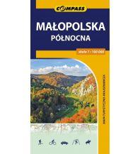 Radkarten Compass Mapa turystyczno-krajoznawcza Polen - Malopolska polnocna 1:100.000 Compass
