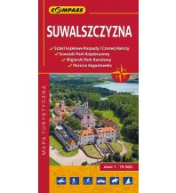 Wanderkarten Polen Compass Polen Mapa Turystyczna, Suwalszczyzna 1:75.000 Compass