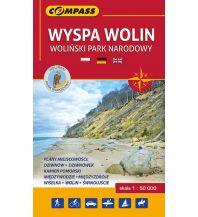 Wanderkarten Polen Compass Polen Mapa Turystyczna, Wyspa Wolin 1:50.000 Compass