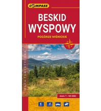 Wanderkarten Polen Compass Polen Mapa Turystyczna, Beskid Wyspowy 1:50.000 Compass