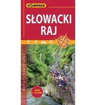 Wanderkarten Slowakei Compass Mapa Turystyczna Slowacki raj/Slowakisches Paradies 1:35.000 Compass