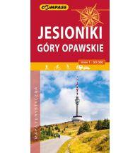 Wanderkarten Tschechien Compass Polen Mapa Turystyczna, Jesioniki/Altvatergebirge 1:50.000 Compass