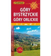 Wanderkarten Tschechien Compass Polen Mapa Turystyczna, Góry Bystrzyckie, Góry Orlickie/Adlergebirge 1:35.000 Compass