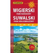 Wanderkarten Compass Mapa Turystyczna Polen - Wigierski Park Narodowy 1:50.000 Compass