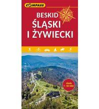 Compass Polen Mapa Turystyczna, Beskid Slaski i Zywiecki 1:50.000 Compass