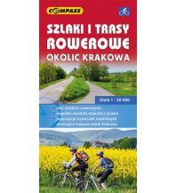 Compass Polen Radkarte Szlaki i trasy rowerowe okolic Krakowa 1:50.000 Compass