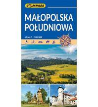 Compass Mapa Turystyczna Polen - Malopolska Poludniowa 1:100.000 Compass