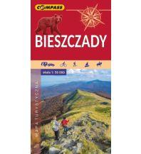 Compass Polen Mapa Turystyczna, Bieszczady 1:50.000 Compass