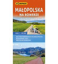 Compass Polen RK Polen - Malopolska na rowerze 1:100.000 Compass