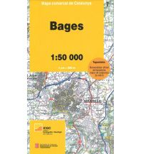 Wanderkarten Spanien Mapa comarcal de Catalunya 7, Bages 1:50.000 Institut Cartogràfic i Geològic de Catalunya
