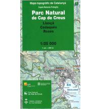 Wanderkarten Spanien Espais Naturals Protegits 48 Katalonien - Parc Natural de Cap de Creus 1:25.000 Institut Cartogràfic i Geològic de Catalunya