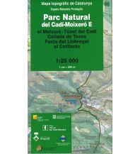 Wanderkarten Spanien Espais Naturals Protegits 46 Katalonien - Parc Natural del Cadi-Moixero, E 1:25.000 Institut Cartogràfic i Geològic de Catalunya