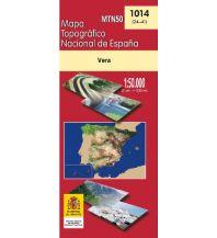 Wanderkarten Spanien CNIG-Karte MTN50 1014, Vera 1:50.000 Direccion General del Instituto Geografico Nacional