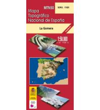 Wanderkarten Spanien CNIG-Karte MTN50 1095/1101, La Gomera 1:50.000 Direccion General del Instituto Geografico Nacional