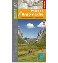 Wanderkarten Spanien Editorial Alpina Map E-25, Valles de Ansó y Echo 1:25.000 Editorial Alpina