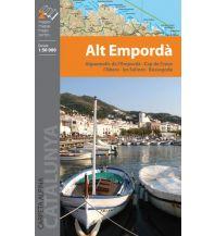Wanderkarten Spanien Editorial Alpina WK Spanien - Alt Emporda 1:50.000 Editorial Alpina