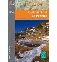 Wanderkarten Spanien Wanderkarte Guadarrama, La Pedriza 1:25.000 Editorial Alpina