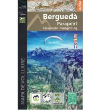Flugkarten Paragleit-Karte Spanien - Bergueda Paragliding 1:50.000 Editorial Alpina