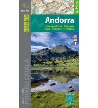 Wanderkarten Spanien Editorial Alpina Map & Guide E-40, Andorra 1:40.000 Editorial Alpina