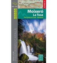 Wanderkarten Spanien Editorial Alpina Map & Guide E-25, Moixeró, La Tosa 1:25.000 Editorial Alpina