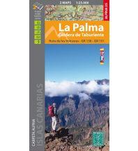 Wanderkarten Spanien Editorial Alpina Wanderkarten-Set La Palma 1:25.000 Editorial Alpina