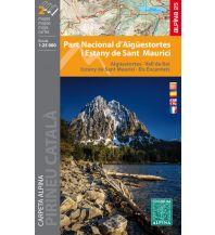 Wanderkarten Spanien Editorial Alpina WK E-25 Spanien - Parc Nacional d'Aigüestortes i Estany de Sant Maurici 1:25.000 Editorial Alpina