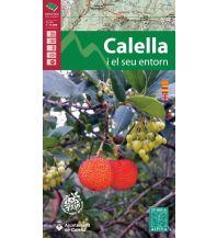 Wanderkarten Spanien Editorial Alpina Spezialkarte Calella i el seu entorn 1:15.000 Editorial Alpina