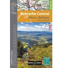 Wanderkarten Editorial Alpina WK E-40 Spanien - Sobrarbe Central 1:40.000 Editorial Alpina