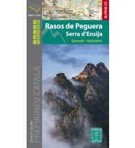 Wanderkarten Spanien Editorial Alpina Map & Guide E-25, Rasos de Peguera, Serra d'Ensija 1:25.000 Editorial Alpina