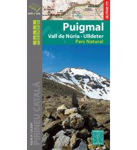 Wanderkarten Spanien Editorial Alpina Map & Guide E-25, Puigmal 1:25.000 Editorial Alpina