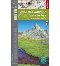 Wanderkarten Spanien Editorial Alpina Map & Guide E-25, Valle de Canfranc, Valle de Aísa 1:25.000 Editorial Alpina