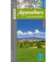 Wanderkarten Spanien Editorial Alpina Spezialkarte Granollers i el seu entorn 1:25.000 Editorial Alpina