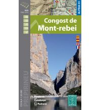 Wanderkarten Spanien Editorial Alpina Spezialkarte Congost de Mont-rebei 1:20.000 Editorial Alpina