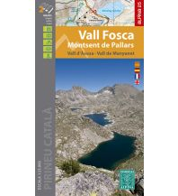 Editorial Alpina Kartenset E25 Spanien - Vall Fosca, Montsent de Pallars 1:25.000 Editorial Alpina