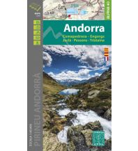 Editorial Alpina Map & Guide E-40, Andorra 1:40.000 Editorial Alpina