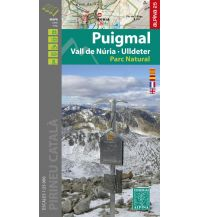 Editorial Alpina Map & Guide E-25, Puigmal 1:25.000 Editorial Alpina