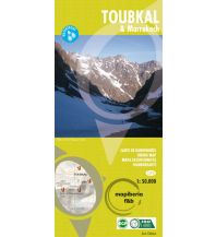 Stadtpläne Wanderkarte Toubkal & Marrakech 1:50.000 Ediciones Orientazion
