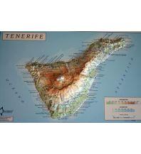 Reliefkarten Mapiberia F&B Orientazio - Tenerife/Teneriffa Direccion General del Instituto Geografico Nacional