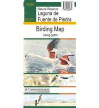 Naturführer Bio Gea Ediciones Birding Map Spanien - Laguna de Fuente de Piedra 1:9.500 Bio Gea Ediciones