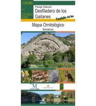 Wanderkarten Bio Gea Ediciones Birding Map Spanien - Desfiladero de los Gaitanes 1:20.000 Bio Gea Ediciones